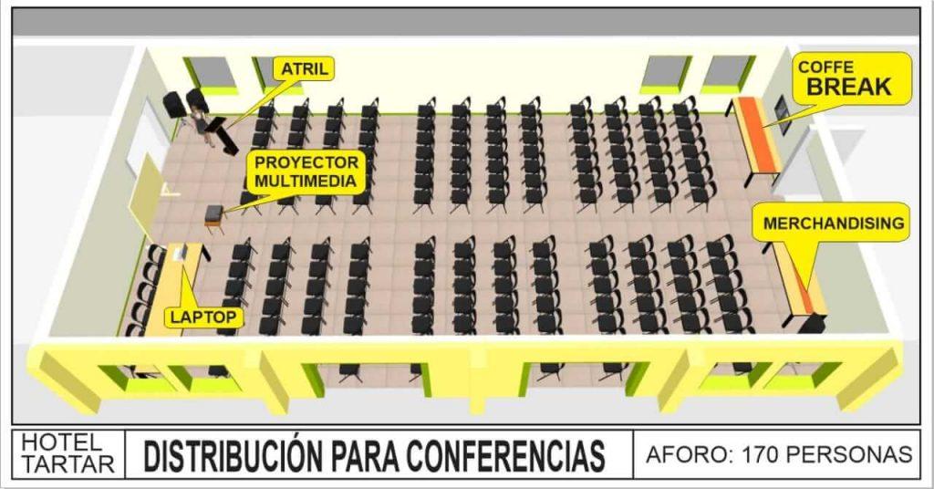 Salón de eventos en Cajamarca